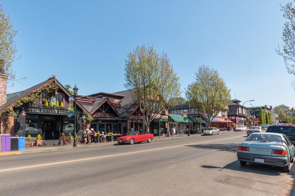 Oak Bay Village Prime Real Estate Area Victoria Wendy Moreton