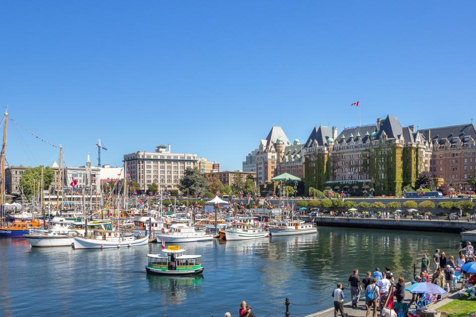 Victoria Inner Harbour Real Estate by Wendy Moreton